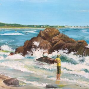 Paintings of People and Places to See Around New England